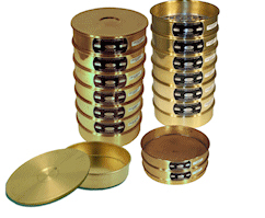 "CSC 8"" Brass ASTM Sieve 11.2mm or 7/16"""