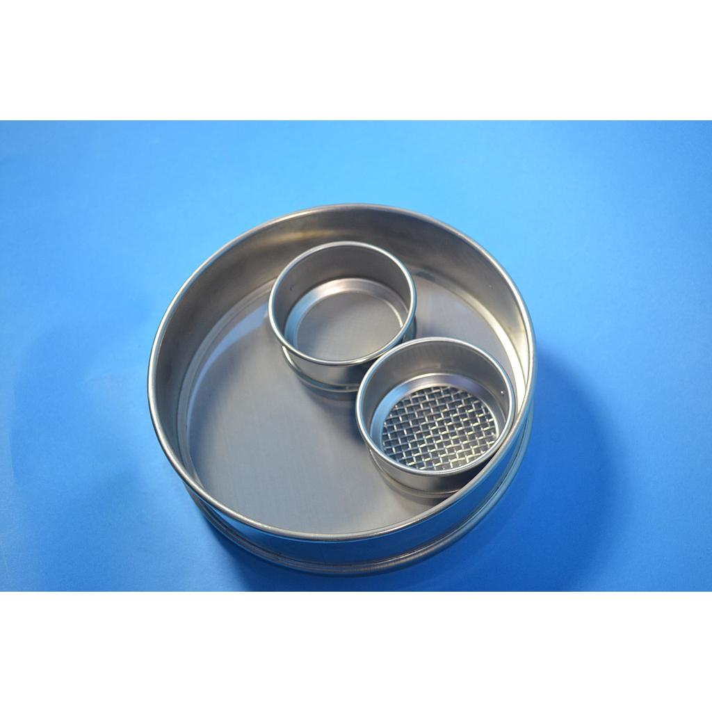 "CSC 8"" Stainless Steel Sieve 53 micron or #270"