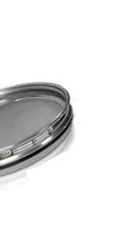 "CSC 8"" Stainless Steel Half-Height Sieve 300 micron or #50"