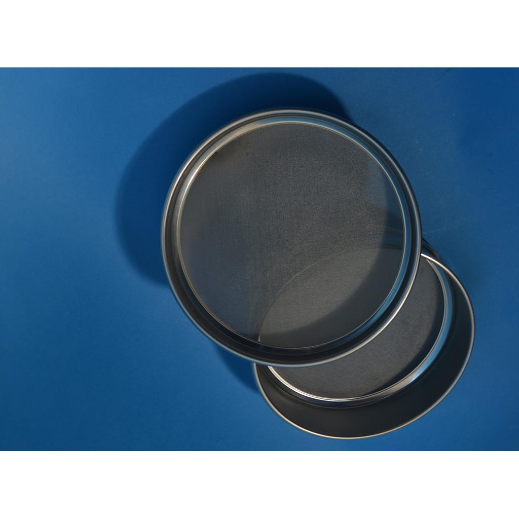 "CSC 8"" Stainless Steel Half-Height Sieve 425 micron or #40"