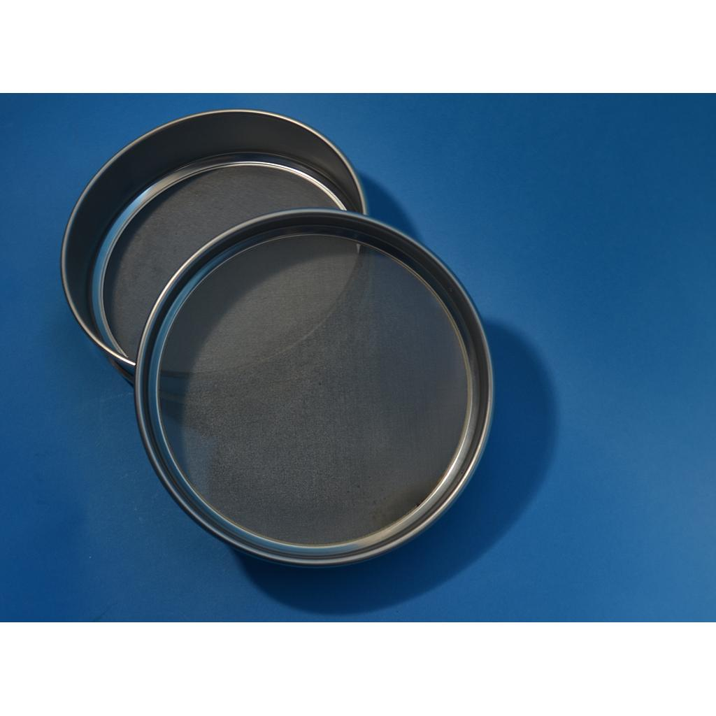 "CSC 8"" Stainless Steel Half-Height Sieve 11.2mm or 7/16"""