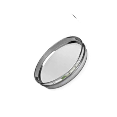 "CSC 8"" Stainless Steel Half-Height Sieve 25.0mm or 1"""