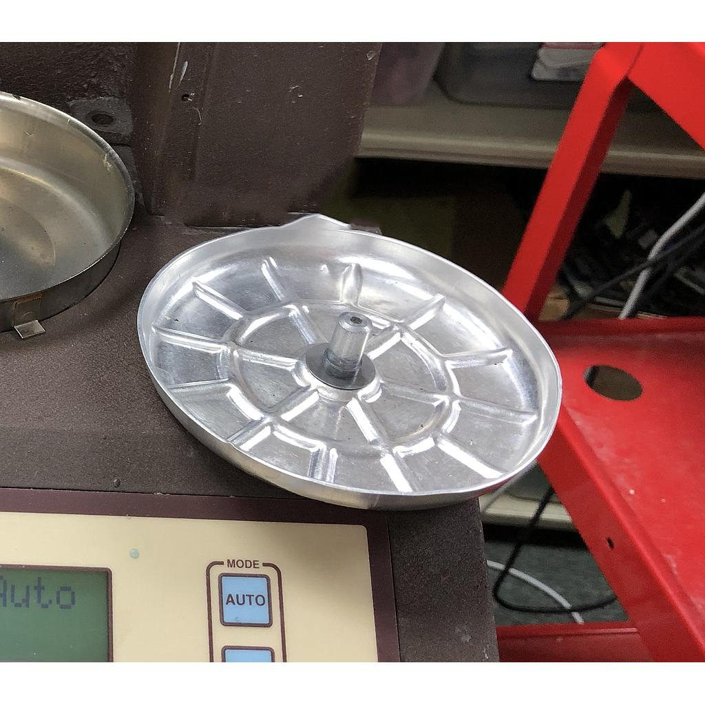 Moisture Balance Weighing Pan/Retainer Pan