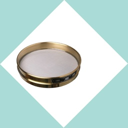"[A008BAW2.00H] CSC 8"" Brass Half-Height Sieve 2.00mm or #10"