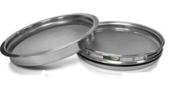 "[A008SAW.053H] CSC 8"" Stainless Steel Half-Height Sieve 53 micron or #270"