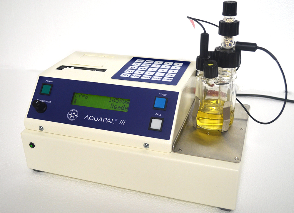 [26100020] Aquapal III Moisture Analyzer W/ Single-reagent Glassware